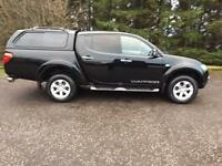 2013 63 MITSUBISHI L200 2.5 DI-D 4X4 WARRIOR NO VAT 4DR PICK UP 175 BHP DIESEL