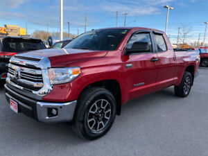 2017 Toyota Tundra TRD-ONE OWNER+DEALER SERVICED!