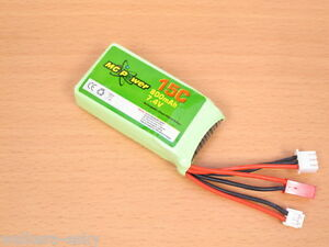 LiPo Battery 7.4V 800mAh 15C for Walkera Transmitter Devo 8/ 8S F7 F4 -USA Ship