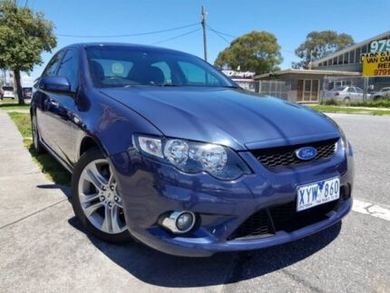 2009 Ford Falcon FG XR6 Blue 6 Speed Sports Automatic Sedan Dandenong Greater Dandenong Preview