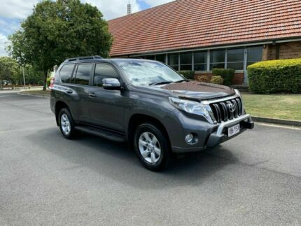 2015 Toyota Landcruiser Prado GDJ150R GXL Grey 5 Speed Automatic Wagon Chermside Brisbane North East Preview