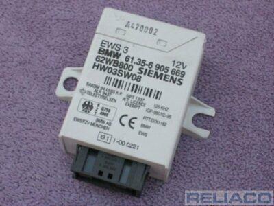 BMW E46 3 Series EWS 3 III ECU Immobiliser Ignition Control Unit Module 6905669