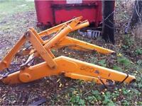 Case 580 Super L Backhoe Loader Arms