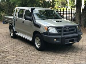 2008 Toyota Hilux KUN26R 08 Upgrade SR (4x4) 5 Speed Manual Dual C/Chas Kent Town Norwood Area Preview
