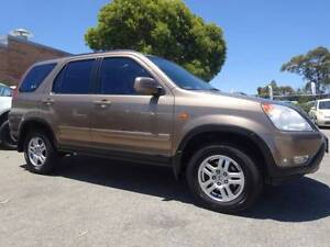 2002 Honda CR-V 4X4 Sport Automatic LOW KMS Wagon Wangara Wanneroo Area Preview