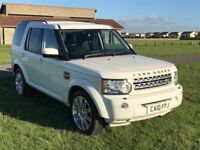 LAND ROVER 2010 DISCOVERY 4 3.0 TDV6 GS 4X4 AUTO DIESEL 7 SEATER FDSH, Added spec, Immaculate.