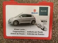 Suzuki Swift Locking wheel nut set