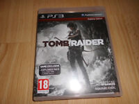 Tomb Raider Playstation3 in original case with no scratches to the disk