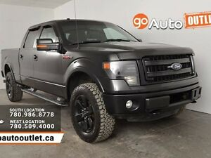 2013 Ford F-150 FX4 4x4 SuperCrew Cab 6.5 ft. box 157 in. WB
