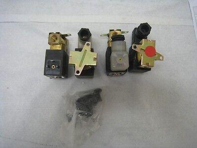 Lot of 4 SMC VX2330, air or water solenoid valves, look unused,