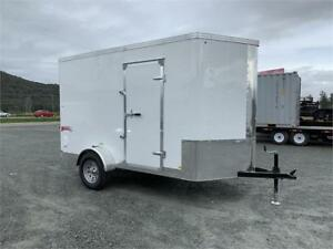 NEW 6x10 TNT TRAX ENCLOSED CARGO TRAILER WITH RAMP DOOR
