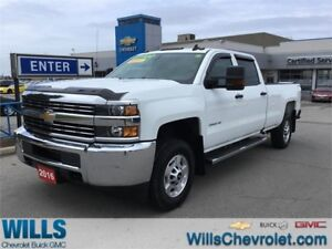 2016 Chevrolet SILVERADO 2500HD WT | CREW CAB LONG BOX | 4X4