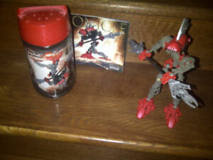 LEGO BIONICLE TURAHK NEUF, 7 ANS + PLUS, COMPLET, PLAN + BOÎTE
