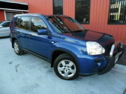 2008 Nissan X-Trail T31 ST Blue 1 Speed Constant Variable Wagon Molendinar Gold Coast City Preview