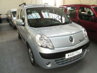 61 RENAULT KANGOO WHEELCHAIR ADAPTED DISABLED 50 + ADAPTED VEHICLES IN STOCK