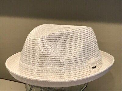 "$115 Bailey Of Hollywood /""RIFF/"" Men/'s Polished Tino Wool Hat Fedora Mallard  L"
