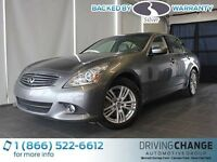 2012 Infiniti G37x Luxury-AWD-Moon Roof-Backup Sensors/Camera