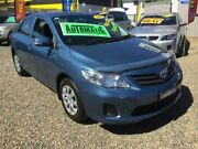 2011 Toyota Corolla ZRE152R MY11 Ascent Blue 4 Speed Automatic Sedan Taree Greater Taree Area Preview