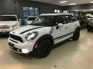 2014 MINI Cooper Countryman S*AWD*LEATHER*PANORAMIC ROOF*LOW KM*