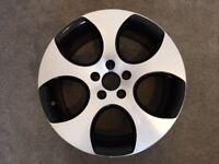 """VW Golf GTI Mk VI 18"""" Monza II diamond cut alloy wheel"""