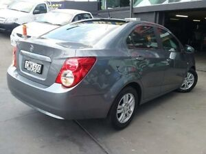 2012 Holden Barina TM MY13 CD Grey 6 Speed Automatic Sedan Greenacre Bankstown Area Preview