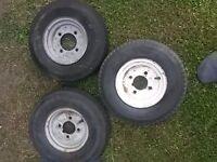 8 inch trailer wheels