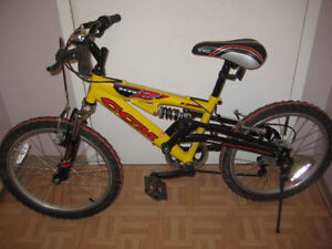 CCM 20'' BIKE with 6 SPEED , FULL Suspension  NICE