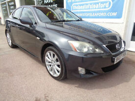 Lexus IS 250 2.5 SE S/H Last owner 7 years P/X swap
