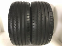 F337 2X 255/45/18 95Y CONTINENTAL SPORT CONTACT 2 MO 1X7MM 1X8MM TREAD NO PUNCTURE REPAIRS
