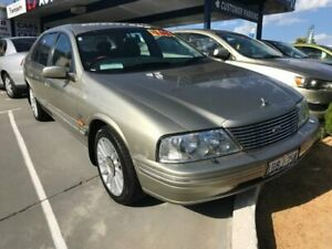 2001 Ford Fairmont AUII Gold 4 Speed Automatic Sedan St James Victoria Park Area Preview