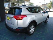 2013 Toyota RAV4 ZSA42R GX (2WD) Silver Continuous Variable Wagon Hamilton Newcastle Area Preview