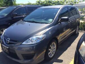 2010 MAZDA 5 , 6 PASSENGER/LOW KILOMETRES/ALLOYS/GAS EFFICIENT!