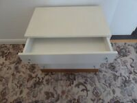 4 drawer chest of drawers and 2 door cabinet
