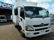 2014 Hino 300 XZU710R 616 Auto MWB White Cab Chassis 4.0l 4x2 Rocklea Brisbane South West Preview