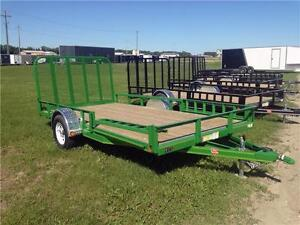 "14' x 83"" Channel Utility Trailer (U8)"