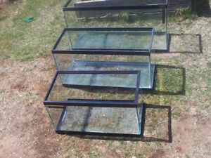 Three aquariums for Sale