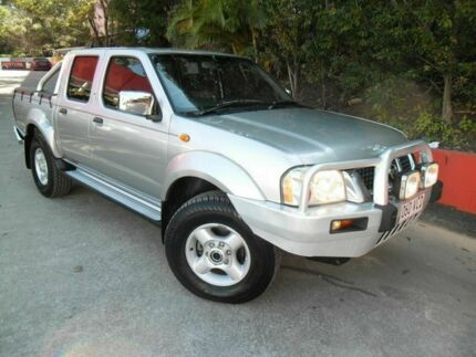 2006 Nissan Navara D22 S2 ST-R Silver 5 Speed Manual Utility Ashmore Gold Coast City Preview
