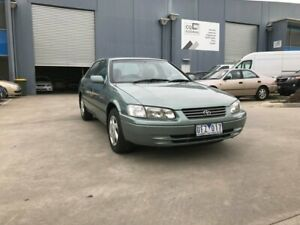 1999 Toyota Camry MCV20R Conquest Green 4 Speed Automatic Sedan Newport Hobsons Bay Area Preview