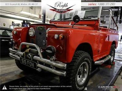 1964 Series II  1964 Land Rover Series II -