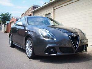 2014 Alfa Romeo Giulietta Series 0 MY13 Distinctive JTD-M Charcoal Metallic Auto Dual Clutch Petersham Marrickville Area Preview