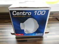 "Blauberg Centro 100 high power 4""/100mm inline centrfugal extractor fan New/still in original box"