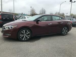 2016 Nissan Maxima PLATINUM NAVIGATION TOIT PANO MAGS CUIR CAM