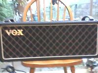 80's Made in UK VOX VS125 lead, 120 watt valve guitar head..Swaps available Laney/ Orange read on.