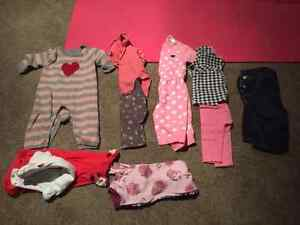 Baby Girl Fall 3-6 month lot