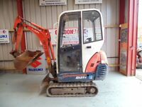 Kubota KX36-3 Mini Excavator, 2008