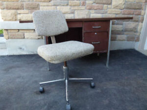 Office chair - Gray / SOLID WOOD Kitchen Chair Set