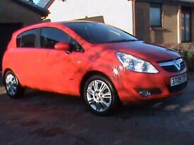 VAUXHALL CORSA 1.3 CDTI DESIGN 5 DR RED,SUPPLIED BY US,CLICK ON VIDEI LINK TO SEE THIS CAR IN DETAIL