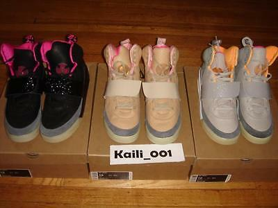 new product c1dde 2fc48 Nike Air Yeezy 1 Set Size 12 Black Pink Blink Zen Tan Jasper Don C