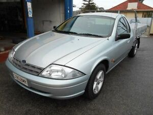 1999 Ford Falcon AU XL Silver 4 Speed Automatic Cab Chassis Christies Beach Morphett Vale Area Preview