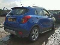 VAUXHALL MOKKA 2015 REG 1598 CC PETROL 5 DOOR HATCH (BREAKING ALL PARTS AVAILABLE)